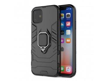 Ring Armor plastový kryt (obal) pre iPhone 7/8/SE 2020 - čierny