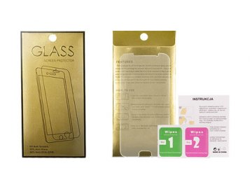 Glass Gold tvrdené sklo pre iPhone 12/12 Pro