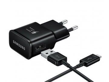 Nabíjačka Samsung EP-TA20EBE + USB-C kábel DG950CBE - čierna