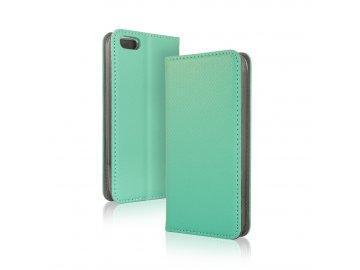 Telone flip Case (puzdro) pre Samsung Galaxy A71 - mentolové - s magnetickým dovieraním