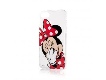 Disney Minnie zadný kryt (obal) pre Samsung Galaxy S10 Lite - s červenou mašľou