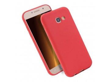 Silikónový kryt (obal) pre Samsung Galaxy A3 2017 (A320F) - červený