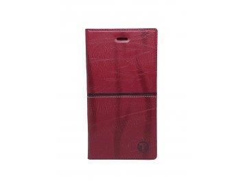 Mobilnet flip Case (puzdro) pre Huawei P9 Lite - bordové