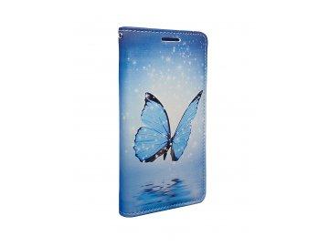 Flip Case (puzdro) pre Samsung Galaxy A3 (2016) - motýľ