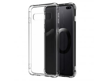 Silikónový kryt (obal) Anti Shock pre Samsung Galaxy Note 20 - priesvitný