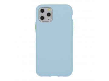 Solid Case silikónový kryt (obal) pre Samsung Galaxy S8 - svetlomodrý