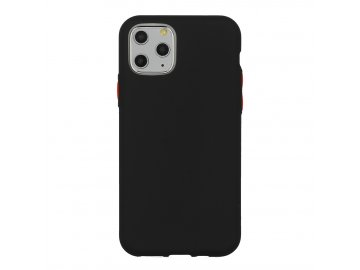 Solid Case silikónový kryt na iPhone 7/8/SE 2020 čierny
