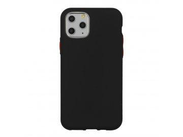 Solid Case silikónový kryt (obal) pre iPhone 6/6S - čierny