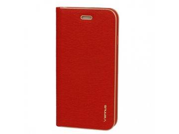 Vennus Kabura flip Case (puzdro) pre Samsung Galaxy A20e - červené - s magnetickým dovieraním