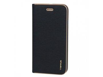 Vennus Kabura flip Case (puzdro) pre Samsung Galaxy A20e - modré - s magnetickým dovieraním