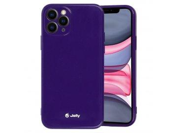 Jelly Colorful kryt (obal) pre Samsung Galaxy S21 - fialový