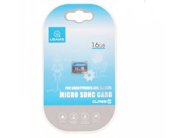 Pamäťová karta USAMS micro SDHC - 16GB