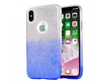 Silikónový kryt (obal) pre Samsung Galaxy A12 - trblietavý modrý