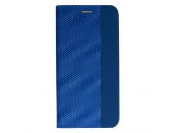 Vennus Sensitive Book (puzdro) pre Samsung Galaxy S20 - modré - s magnetickým dovieraním