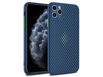 Breath Case silikónový kryt (obal) pre Samsung Galaxy M21 - modrý
