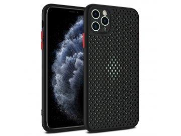 Breath Case silikónový kryt (obal) pre Xiaomi Redmi Note 9 Pro - čierny