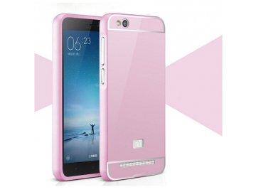 Hliníkový kryt (obal) pre Xiaomi Redmi 3Pro/3S - pink (ružový)