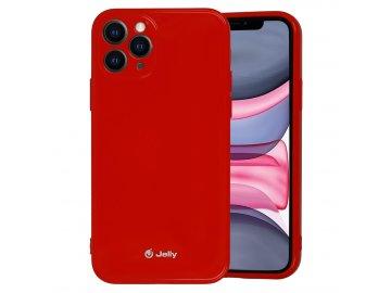 Jelly Colorful kryt (obal) pre Huawei P30 Lite - červený