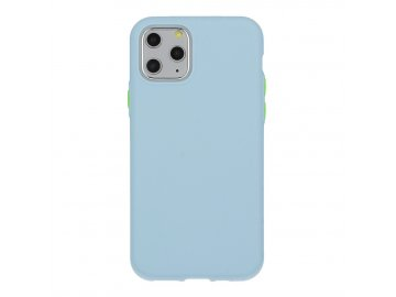 Solid Case silikónový kryt (obal) pre Samsung Galaxy S7 - svetlomodrý