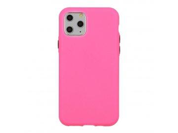 Solid Case silikónový kryt (obal) pre Samsung Galaxy S7 Edge - ružový