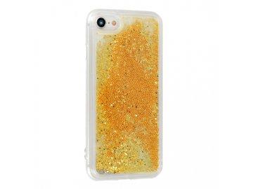 Vennus Liquid Case silikónový kryt (obal) pre Samsung Galaxy S10+ (Plus) - zlatý