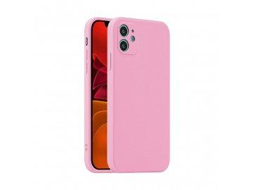 Fosca Case silikónový kryt (obal) pre Samsung Galaxy A12 - ružový