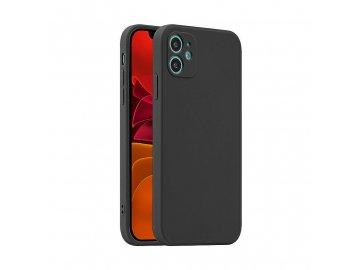Fosca Case silikónový kryt (obal) pre iPhone 12/12 Pro - čierny