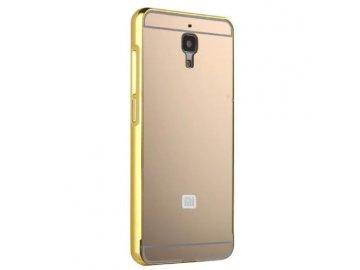 Hliníkový kryt (obal) pre Xiaomi Mi4 - gold (zlatý)