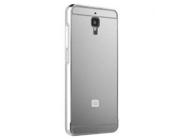 Hliníkový kryt (obal) pre Xiaomi Mi4 - silver (strieborný)
