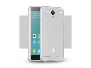 Hliníkový kryt (obal) pre Xiaomi Redmi Note 2 - silver (strieborný)