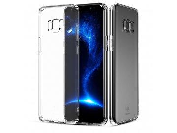 Baseus Silikónový kryt (obal) pre Samsung Galaxy S8 - clear (priesvitný)