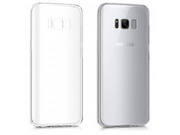 Silikónový kryt (obal) pre Samsung Galaxy S8 Plus - clear (priesvitný)