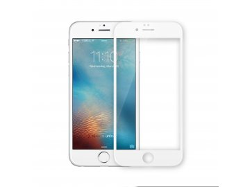 Swissten 3D tvrdené sklo pre iPhone 7 / 8 - biele