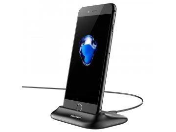 Dokovacia stanica Baseus pre iPhone - čierna