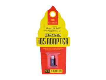 Adaptér Earldom ET-OT08 z micro USB na Lightning (Apple)