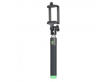 Monopod Selfie Stick (selfie tyč) Premium - čierno-zelená