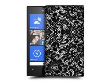 Plastový kryt (obal) pre Nokia Lumia 520 - s potlačou