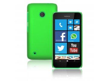 Plastový kryt (obal) pre Nokia Lumia 530 - green (zelený)