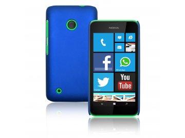 Plastový kryt (obal) pre Nokia Lumia 530 - dark blue (tm. modrý)