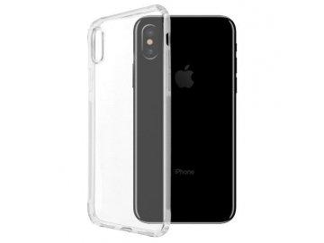 Silikónový kryt na iPhone X priesvitný