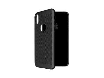 "Plastový kryt ""OKKES"" pre iPhone X/XS - čierny"