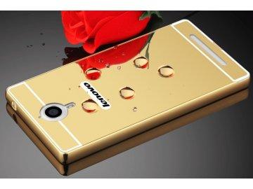 Hliníkový kryt pre Lenovo K80 - zlatý