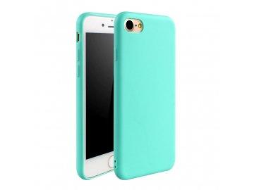 Silikónový kryt pre iPhone 7 / 8 - sv. modrý
