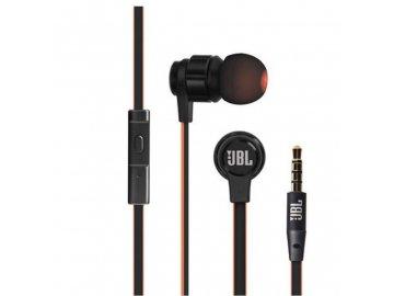 Stereo JBL slúchadlá - čierno-červené