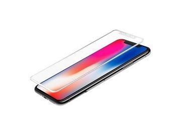 Star-Case 3D tvrdené sklo pre iPhone X/XS s bielymi okrajmi