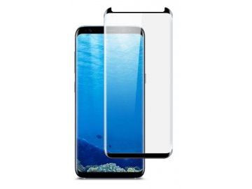Star*Case 3D tvrdené sklo pre Samsung S8+ (PLUS) - čierne