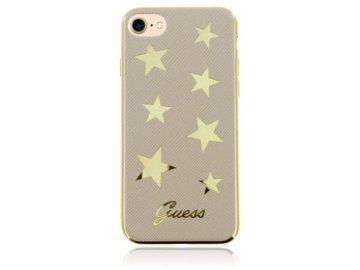 GUESS Star silikónový kryt pre iPhone 7 / 8 - béžový
