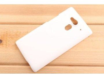 Plastový kryt (obal) pre Acer Liquid Z5 - biely