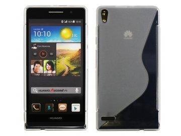 Gélový kryt (obal) pre Huawei Ascend P6 - matný priesvitný
