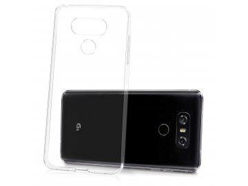 Silikónový kryt (obal) pre LG G6 - clear (priesvitný)